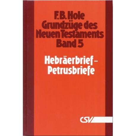 Grundzüge des Neuen Testaments (Bd. 5: Hebräer - Petrus)