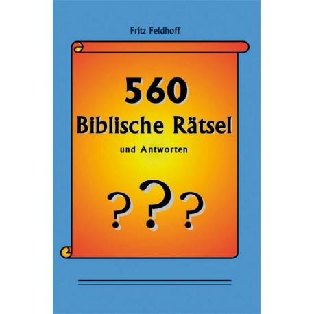 560 Biblische Rätsel