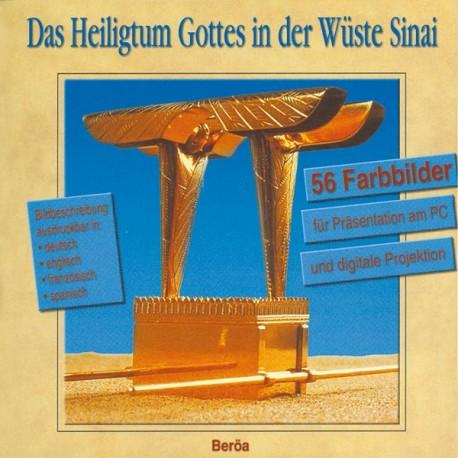 Das Heiligtum Gottes in der Wüste Sinai - CD-ROM