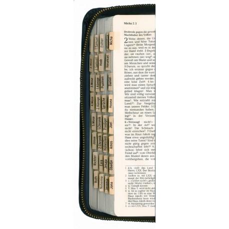Griffregister zur Bibel (zum Selbsteinkleben)