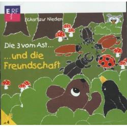 Die 3 vom Ast und die Freundschaft (CD)