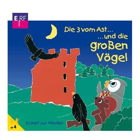 Die 3 vom Ast und die großen Vögel (CD)