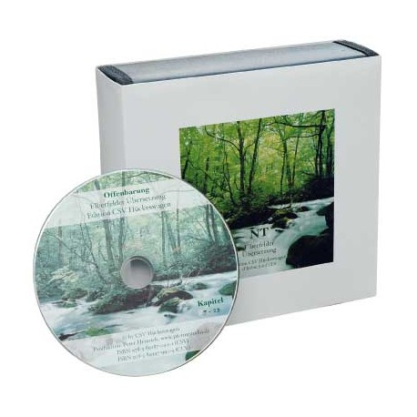 Elberfelder Hörbibel (NT) - 24 Audio-CDs
