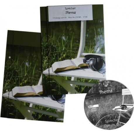 Die Christenheit - 3 Gleichnisse (Matthäus 24 u. 25) (CD)