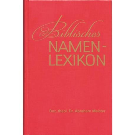 Biblisches Namenslexikon