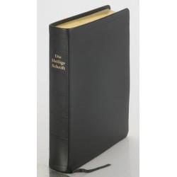 Schreibrandbibel, größere Ausgabe, Leder (Sonderposten)