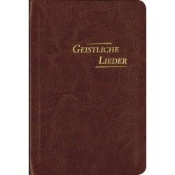 Geistliche Lieder, Kunstleder, PU braun - klein