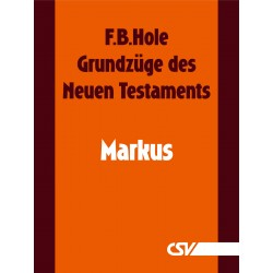 Grundzüge des Neuen Testaments - Markus (E-Book)