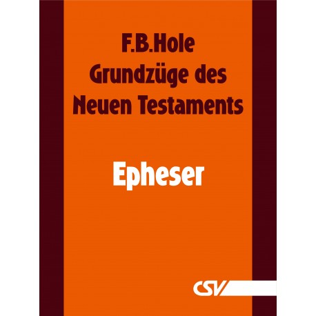 Grundzüge des Neuen Testaments - Epheser (E-Book)