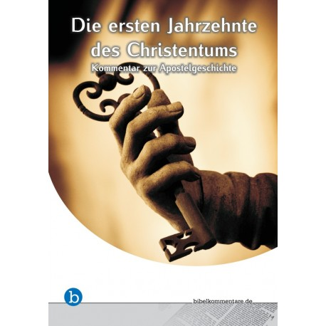 Die ersten Jahrzehnte des Christentums (E-Book)