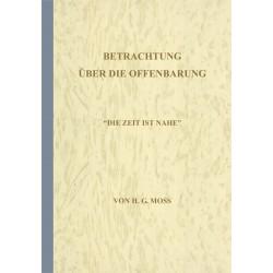 Betrachtung über die Offenbarung (E-Book)