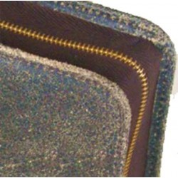 Bibelhülle, Texas, Leder im Used-Look, braun für Taschenbibeln