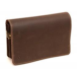 Bibeltasche für große Taschenbibel, braun