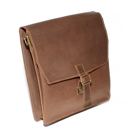 Bibeltasche für Standard-, Schreibrand- und Hausbibel, braun
