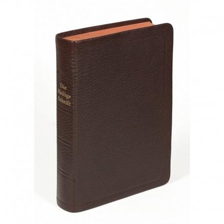Standardbibel, Ziegenleder braun, Rotgoldschnitt