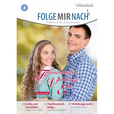 "Folge mir nach - Sonderheft ""Freundschaft, Verlobung, Ehe"""