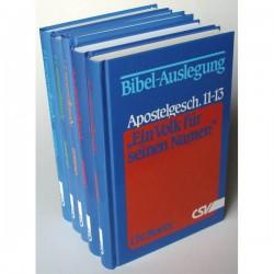 Ein Volk für seinen Namen - Apostelgeschichte 1 - 20 (7 Bände)