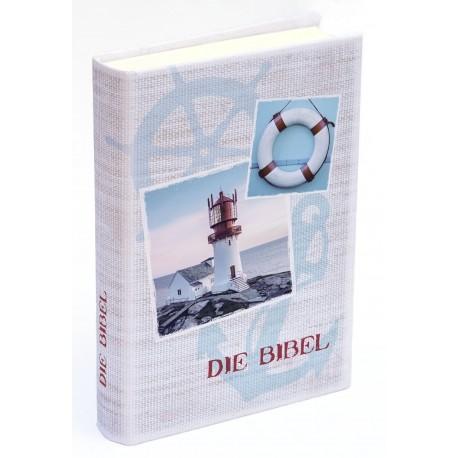 Taschenbibel, größere Ausgabe, Motiv Maritim
