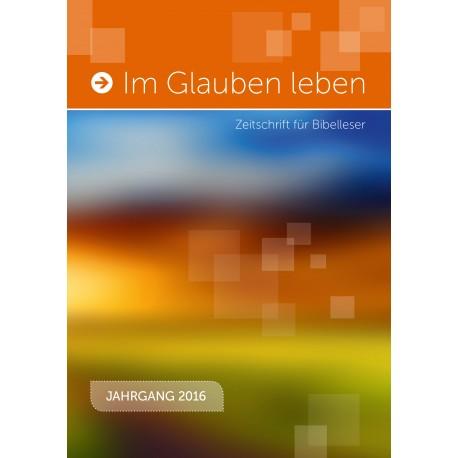 Jahrbuch 2016 - Im Glauben leben