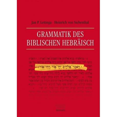 Grammatik des Biblischen Hebräisch