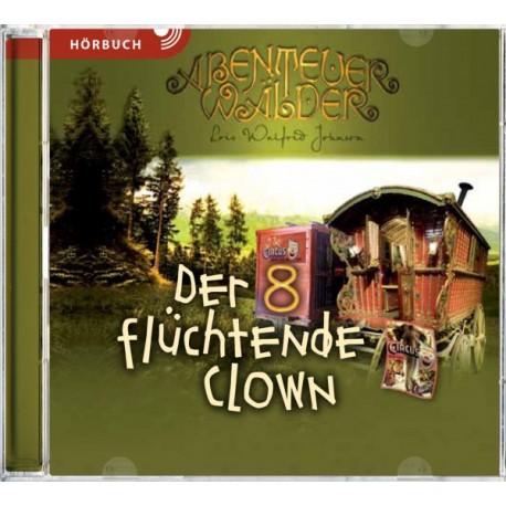 Der flüchtende Clown (Hörbuch MP3 CD]