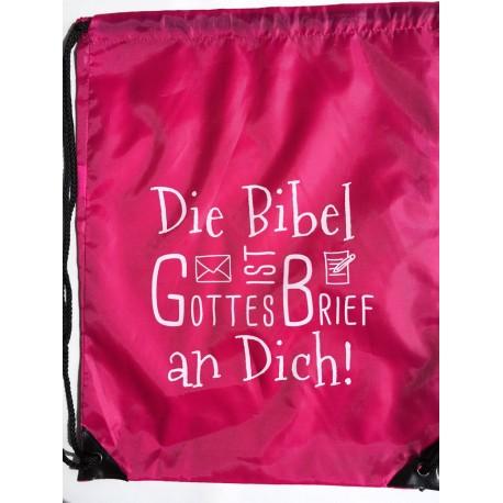 Sportbeutel STRING BAG - pink
