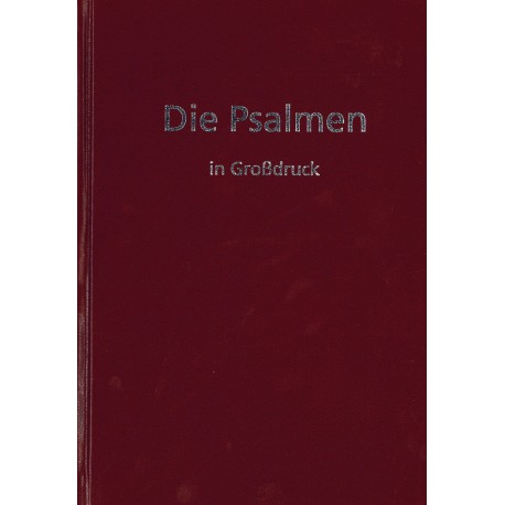 Die Psalmen in Großdruck