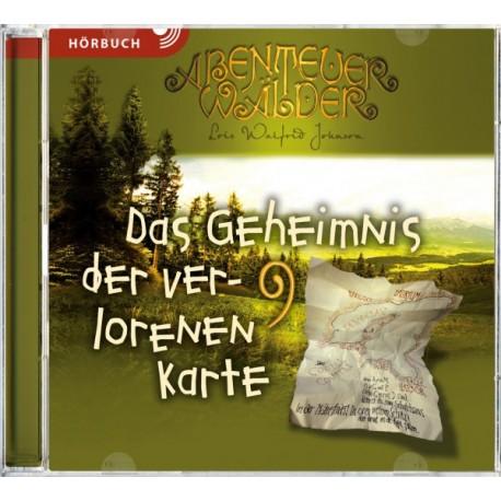 Das Geheimnis der verlorenen Karte (Hörbuch MP3 CD]