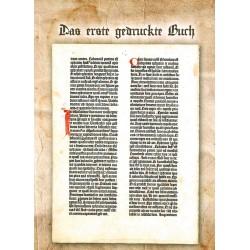 """Mappe """"Das erste gedruckte Buch"""""""