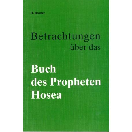Betrachtungen über das Buch des Propheten Hosea