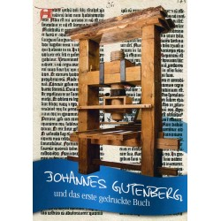 Johnannes Gutenberg und das erste gedruckte Buch