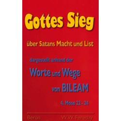 Gottes Sieg über Satans Macht und List