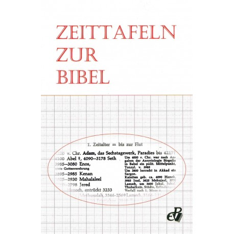 Zeittafeln zur Bibel