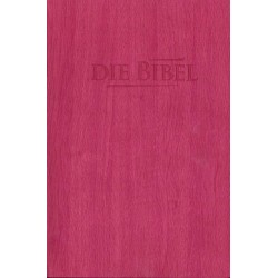 Taschenbibel, größere Ausgabe, pink