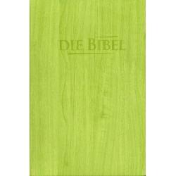 Taschenbibel, größere Ausgabe, gelbgrün