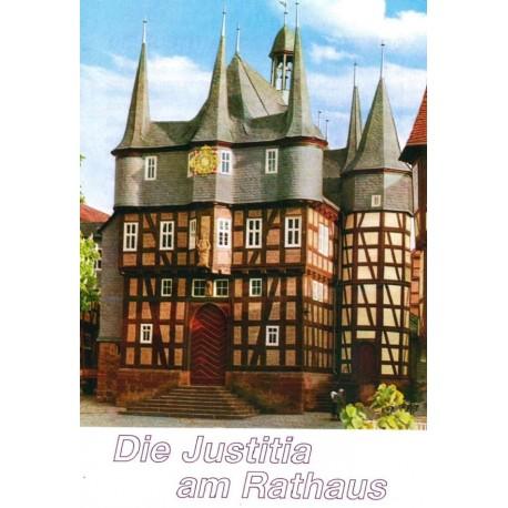 Die Justitia am Rathaus