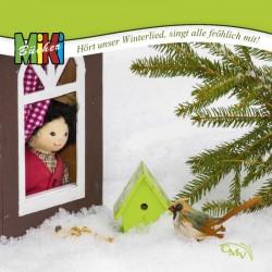 Hört unser Winterlied, singt alle fröhlich mit!