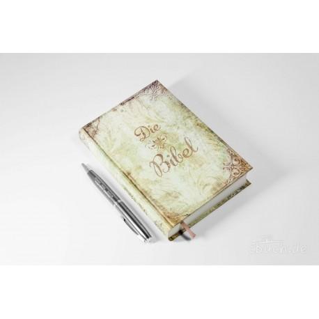 Taschenbibel, größere Ausgabe, Motiv Vintage