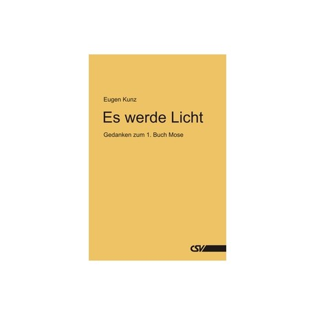 Es werde Licht (kostenloses E-Book)