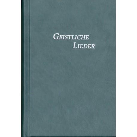 Geistliche Lieder, Hardcover, grau-blau, mittel
