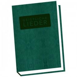 Schweizer Liederbuch Geistliche Lieder - gross grün