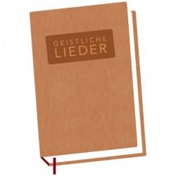 Schweizer Liederbuch Geistliche Lieder - gross braun