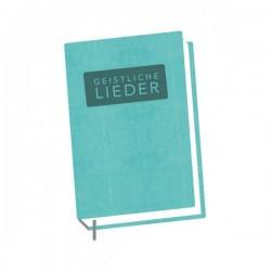 Schweizer Liederbuch Geistliche Lieder - klein, türkis