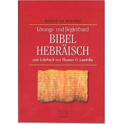 Lösungsbuch Bibel-Hebräisch
