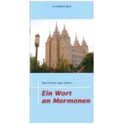 Ein Wort an Mormonen