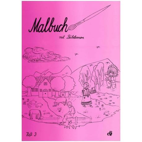 Malbuch mit Bibelversen (Heft 3)