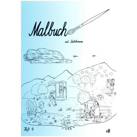Malbuch mit Bibelversen (Heft 4)