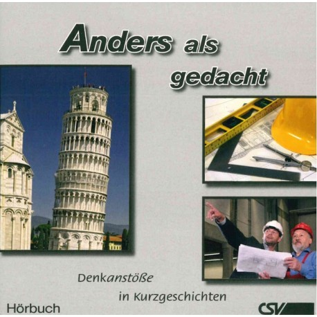 Anders als gedacht (Hörbuch)