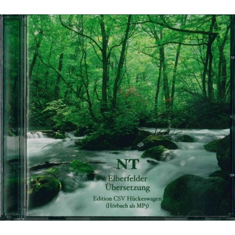 Elberfelder Hörbibel (NT) - 1 CD (MP3)