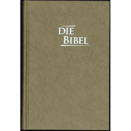 Pocketbibel, Hardcover, Baladek, Sandbraun